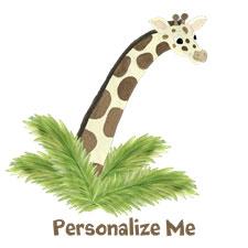 Personalized Giraffe Gifts
